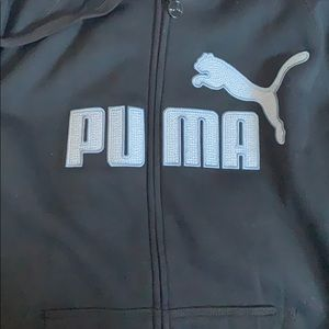 Men's puma zip up